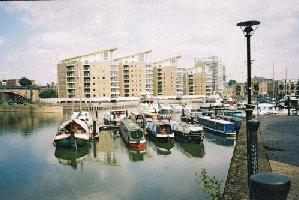 Limehouse Basin and Marina