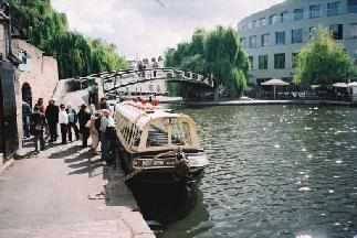 The Regents Canal at Camden Lock