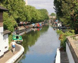 Regent's Canal Blomfield Terrace