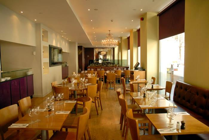 The river thames guide eating and drinking locale - Cucina restaurant london ...