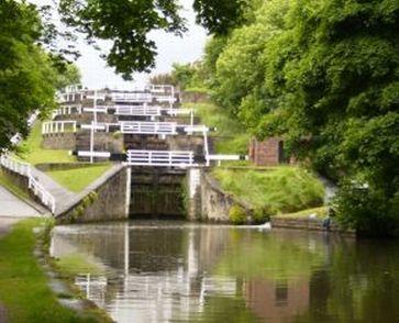 Bingley Five Rise Staircase Locks