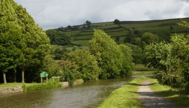 The Leeds and Liverpool Canal near Skipton