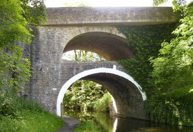 The bridges at East Marton