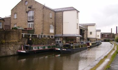 The canal at Shipley