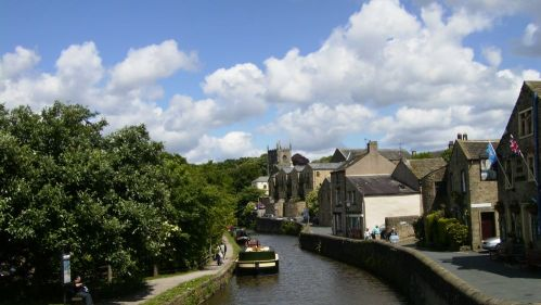 The canal at Skipton